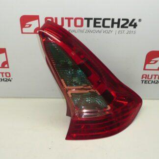 Pravá zadní lampa světlo CITROEN C4 3dv 9646801677 6351T6